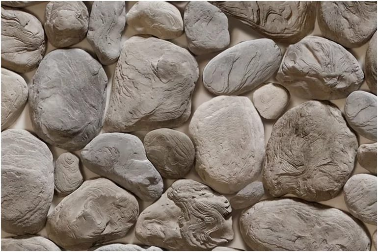 Дикий камень из цемента