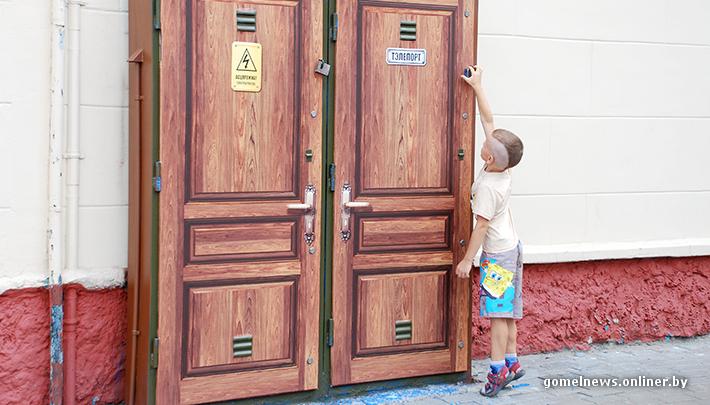 Шкаф с телепортом на проспекте победы (фото) гомель.
