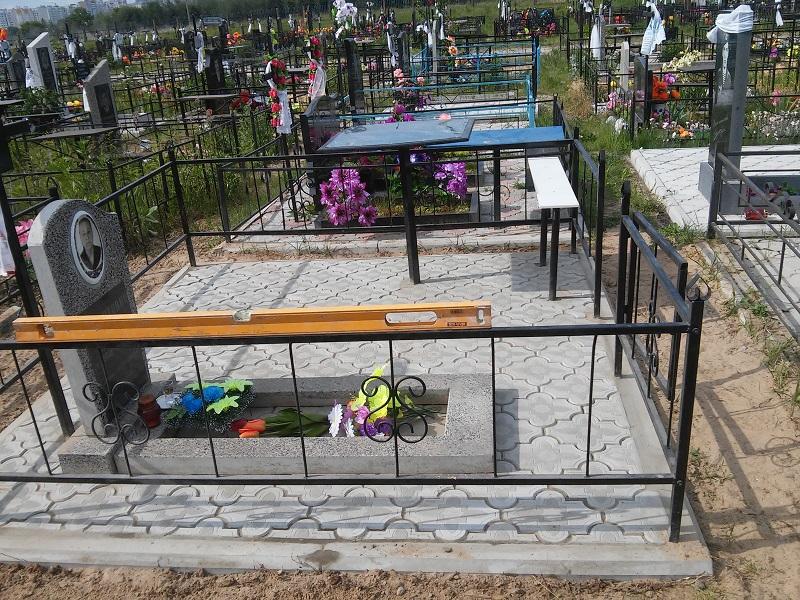Облагородить могилу на кладбище своими руками 22